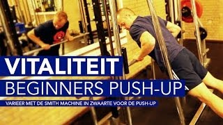 De Push-up voor beginners